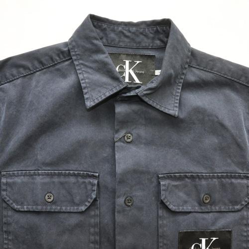 Calvin Klein Jeans/ カルバンクライン ジーンズ 半袖ワークシャツ - 2