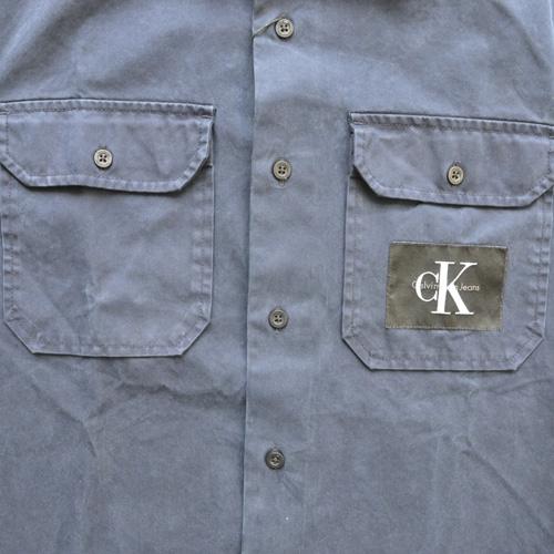 Calvin Klein Jeans/ カルバンクライン ジーンズ 半袖ワークシャツ - 3