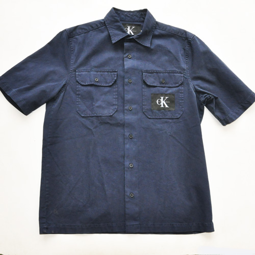 Calvin Klein Jeans/ カルバンクライン ジーンズ 半袖ワークシャツ