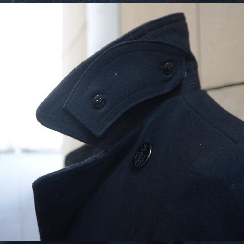 DENIM&SUPPLY(デニム&サプライ) メルトンPコート ブラック - 2