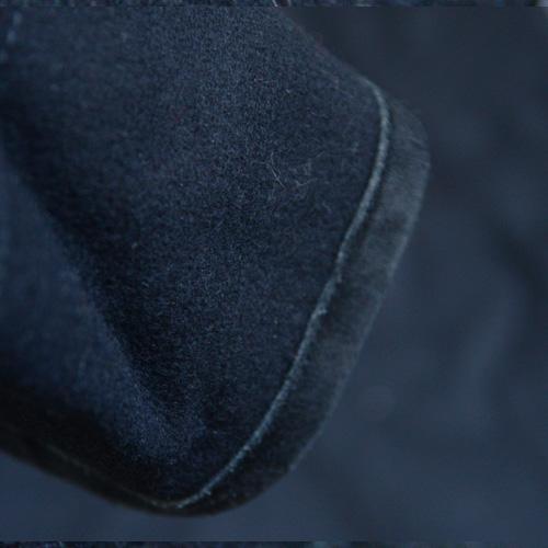 DENIM&SUPPLY(デニム&サプライ) メルトンPコート ブラック - 3