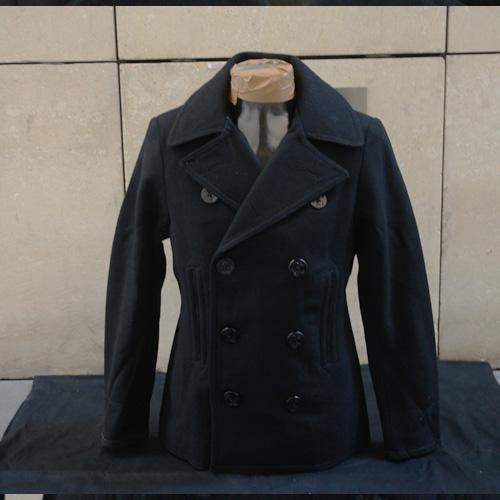 DENIM&SUPPLY(デニム&サプライ) メルトンPコート ブラック