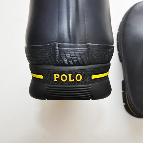 POLO RALPH LAUREN / ポロラルローレン ラバーレインブーツ - 5