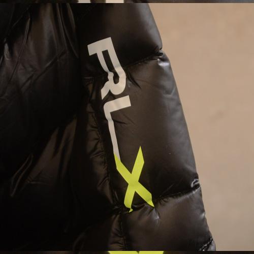 RLX (アールエルエックス)ダウンJKT ブラック - 3