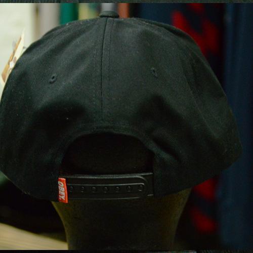 OBEY(オベイ×キースへリング) スナップバック ブラック - 3