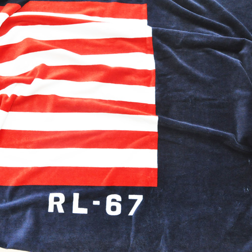 POLO RALPH LAUREN / ポロラルローレン RL-67 大判 BEACH TOWEL - 1