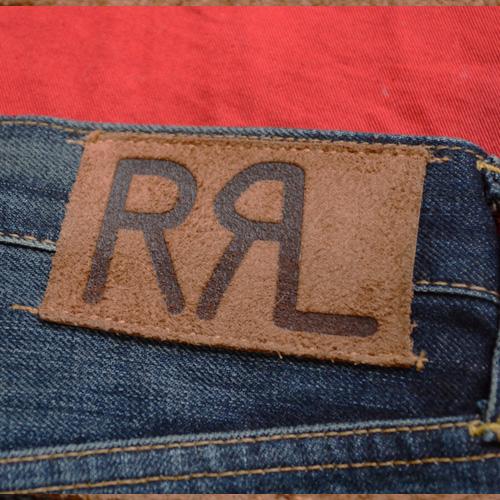 RRL (ダブルアールエル)STRAIGHT LEGジーンズ - 3