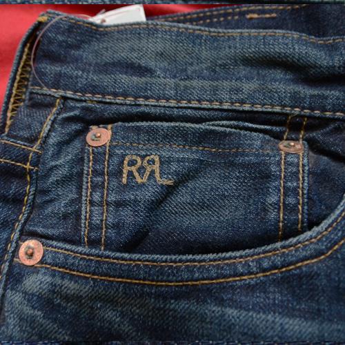 RRL (ダブルアールエル)STRAIGHT LEGジーンズ - 5