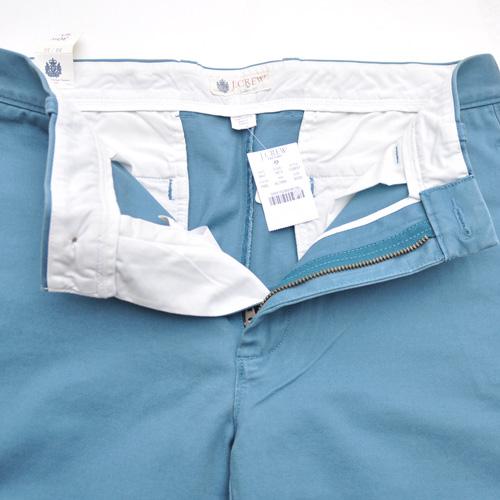 J.CREW (ジェイクルー) ビンテージカラーパンツ ブルー - 2