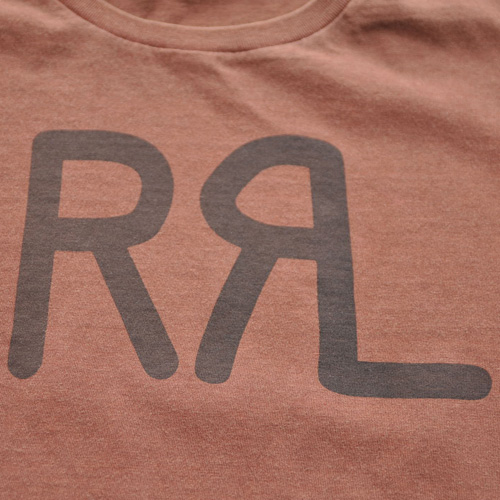 RRL/ダブルアールエル  半袖フロントロゴTシャツ - 3
