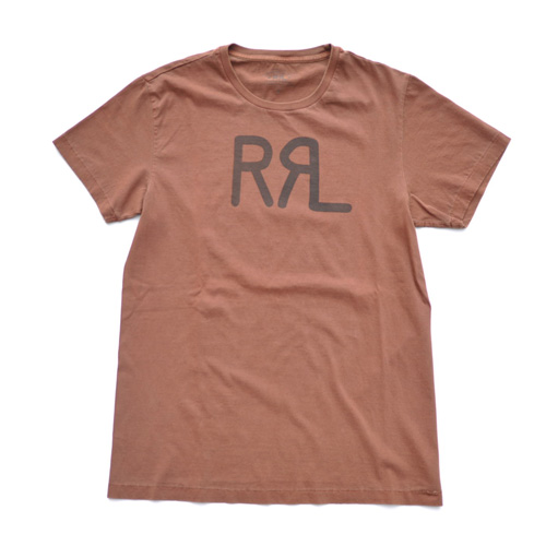 RRL/ダブルアールエル  半袖フロントロゴTシャツ