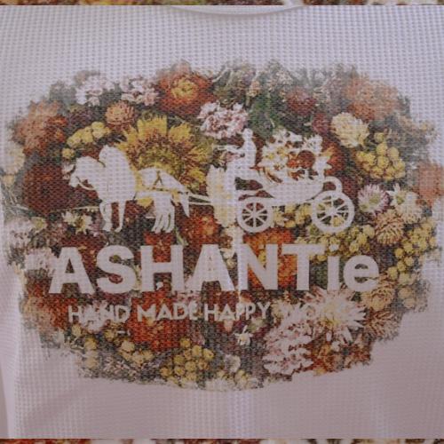 ASHANTie (アシャンティ) フロントフラワープリントロングスリーブサーマルTシャツ  - 2