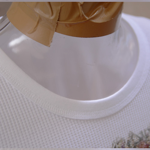 ASHANTie (アシャンティ) フロントフラワープリントロングスリーブサーマルTシャツ  - 3