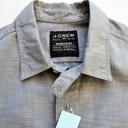 J.CREW / ジェイクルー シャンブレーワークシャツ-3