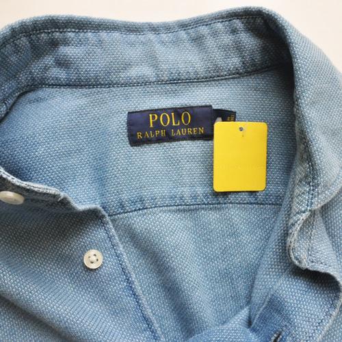 POLO RALPH LAUREN /ポロラルフローレン/ RALPH LAUREN ワッフルロングスリーブシャツ - 2