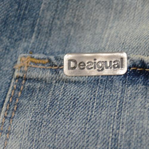 DESIGUAL (デジグアル) デニムハーフショーツ - 2