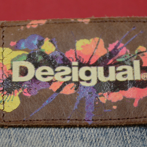 DESIGUAL (デジグアル) デニムハーフショーツ-4
