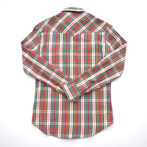 RRL/ダブルアールエル ロングスリーブチェックシャツ-2