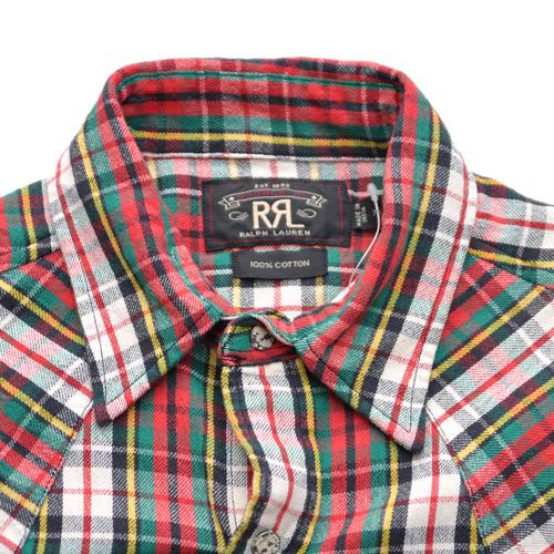RRL/ダブルアールエル ロングスリーブチェックシャツ-5