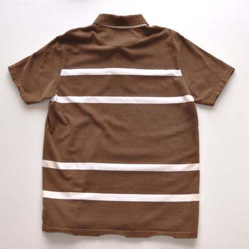 AMERICAN EAGLE (アメリカンイーグル) ポロシャツ ブラウン - 1