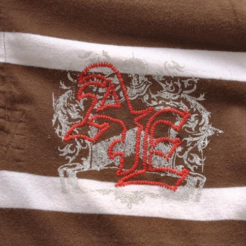 AMERICAN EAGLE (アメリカンイーグル) ポロシャツ ブラウン - 5