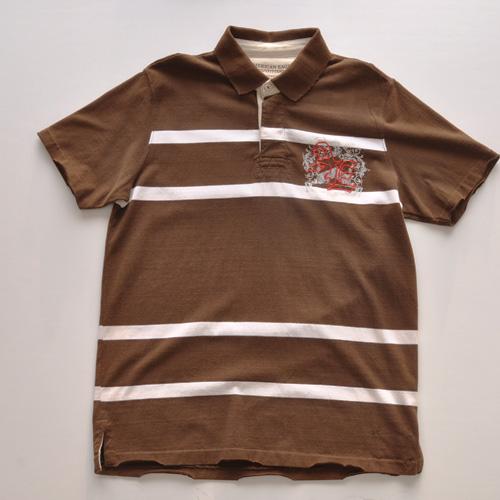 AMERICAN EAGLE (アメリカンイーグル) ポロシャツ ブラウン