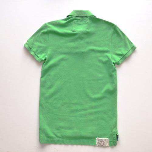 AMERICAN EAGLE (アメリカンイーグル) 半袖ポロシャツ グリーン - 1