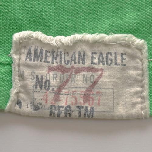 AMERICAN EAGLE (アメリカンイーグル) 半袖ポロシャツ グリーン - 3