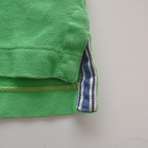AMERICAN EAGLE (アメリカンイーグル) 半袖ポロシャツ グリーン - 5