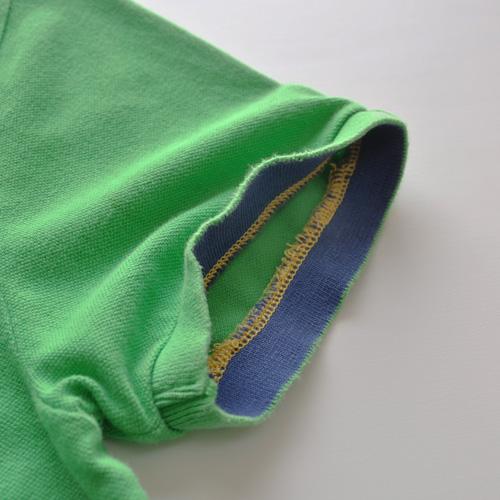 AMERICAN EAGLE (アメリカンイーグル) 半袖ポロシャツ グリーン - 6