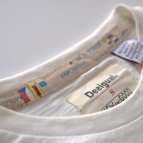 DESIGUAL (デジグアル) 半袖Tシャツ ホワイト-4
