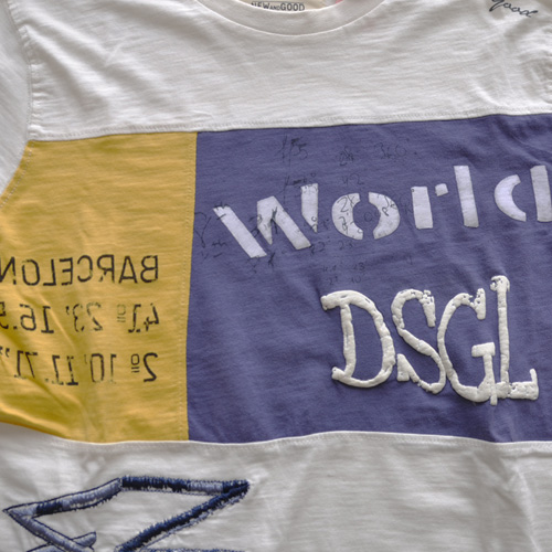DESIGUAL (デジグアル) 半袖Tシャツ ホワイト-5