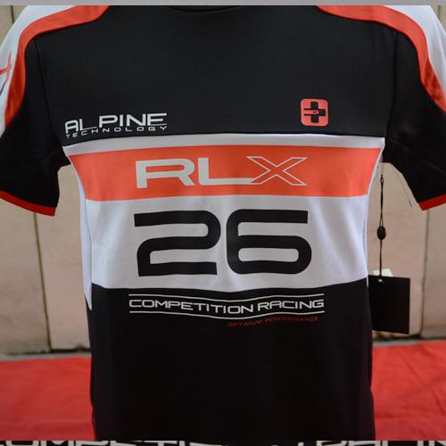 RALPH LAUREN RLX (アールエルエックス)半袖サイクリングTシャツ-2