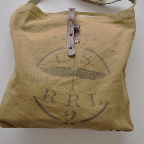 RRL (ダブルアールエル) ミリタリートートバック - 3