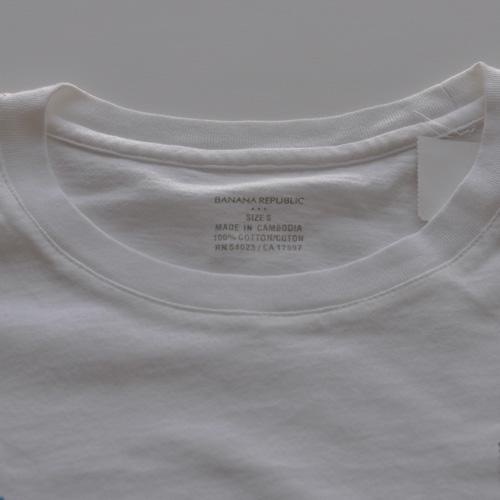 BANANA REPUBLIC (バナナリパブリック) 半袖Tシャツオフ ホワイト - 2