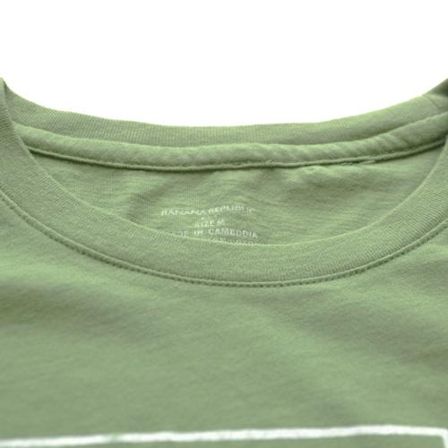BANANA REPUBRIC(バナナリパブリック) 半袖Tシャツ グリーン - 2