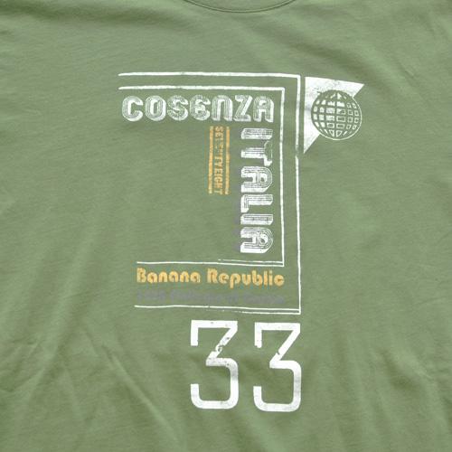 BANANA REPUBRIC(バナナリパブリック) 半袖Tシャツ グリーン - 3