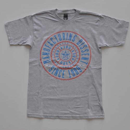 OBEY(オベイ)半袖Tシャツ グレー