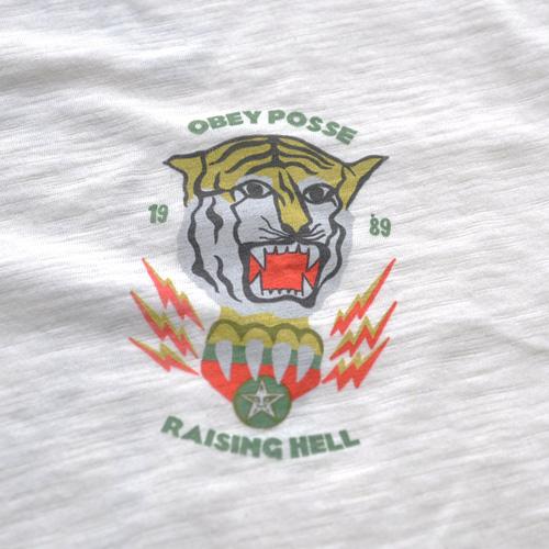 0BEY (オベイ)両面プリント半袖Tシャツ クリーム - 3