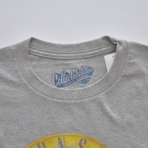 OLD NAVY (オールドネイビー)半袖Tシャツ グレー-3