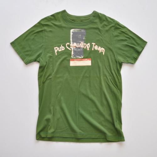 OLD NAVY (オールドネイビー) 半袖Tシャツ グリーン