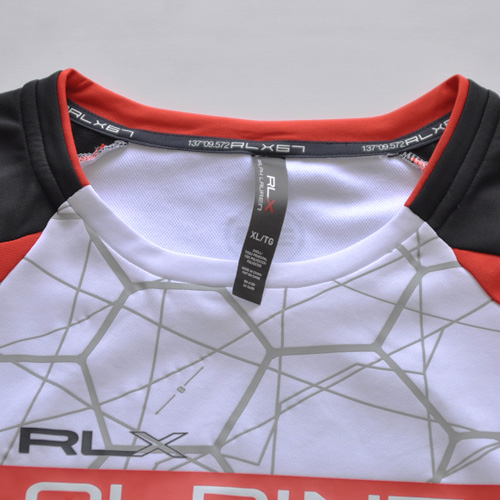 RALPH LAUREN RLX (ラルフローレン アールエルエックス)半袖サイクリングTシャツ 2-3