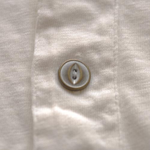 RRL (ダブルアールエル)ヘンリーネックTシャツ オフホワイト - 3