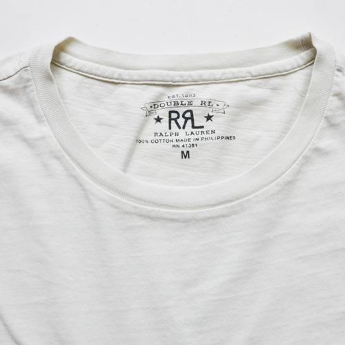 RRL/ダブルアールエル  ビンテージフロントポケット半袖Tシャツ - 3