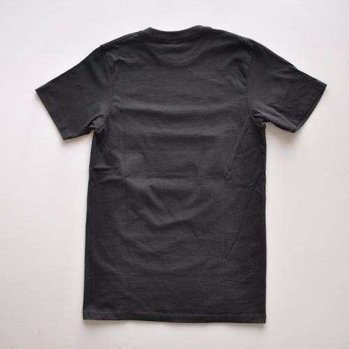 ZOO YORK (ズーヨーク) フロントプリント半袖Tシャツ ブラック - 1