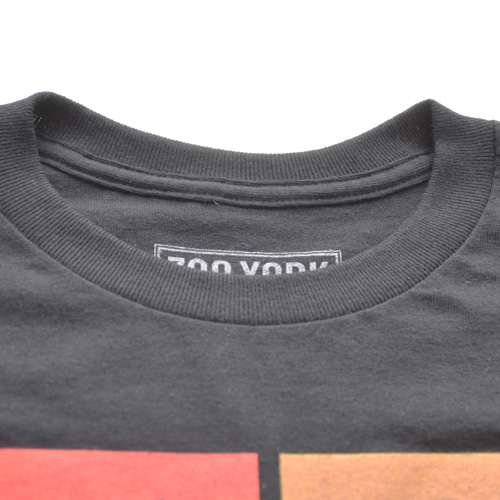 ZOO YORK (ズーヨーク) フロントプリント半袖Tシャツ ブラック - 2
