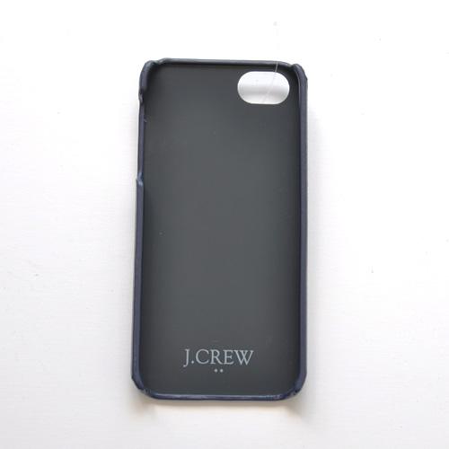 J.CREW (ジェイクルー) I-PHONE 5 レザーケース - 1