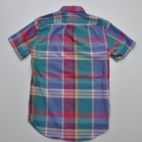 J.CREW (ジェイクルー) 半袖チェックボタンシャツ - 1