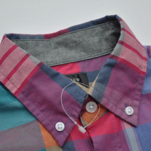 J.CREW (ジェイクルー) 半袖チェックボタンシャツ - 2