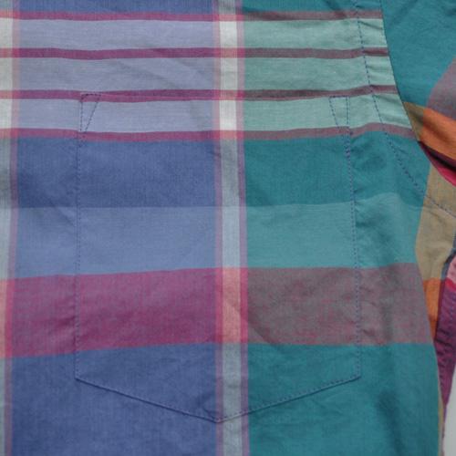 J.CREW (ジェイクルー) 半袖チェックボタンシャツ - 3